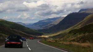 Fahrt über Kinlochewe, Highlands